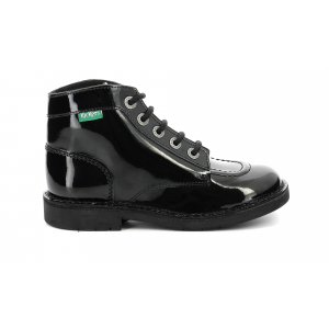KICK COL BLACK PATENT