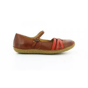 Kickers HIBOU CAMEL ROUGE