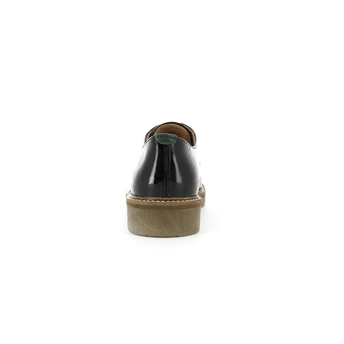 Kickers Vernis Oxfork Chaussures Femme Noir Fqxp7 dqwzYxOz