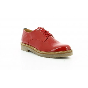 Kickers OXFORK ROUGE VERNIS