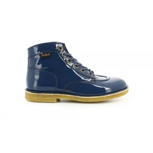 Kickers KICK LEGEND NAVY PATENT