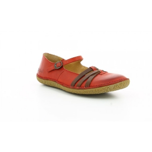 Kickers HIBOU RED BROWN