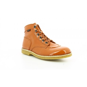 Kickers KICK LEGEND ORANGE VERNIS