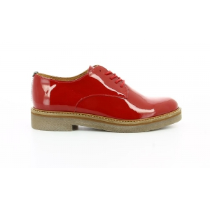 Kickers OXFORK RED PATENT