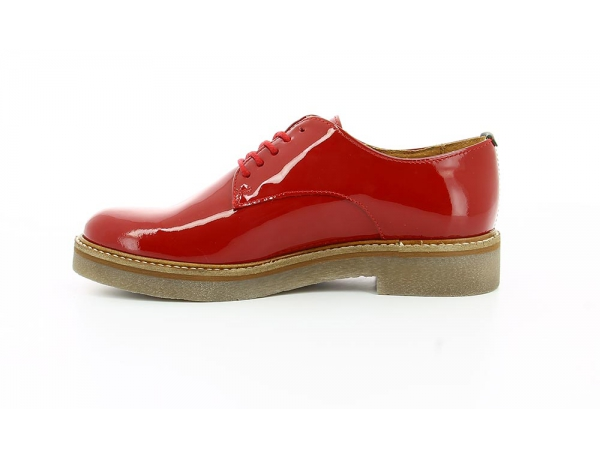 OXFORK RED PATENT