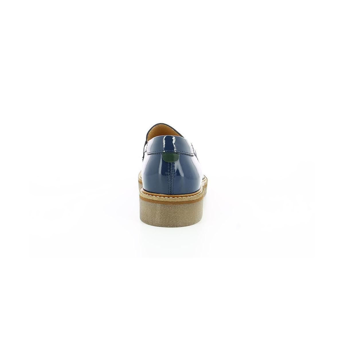 1835b6778f98e0 Chaussures Femme OXMOX MARINE VERNIS - Kickers