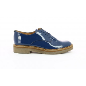 Kickers OXFORK NAVY PATENT