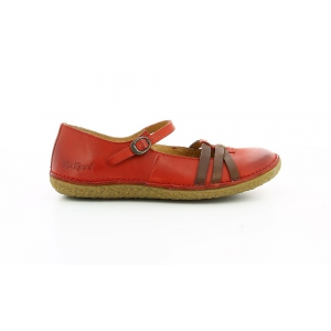 Kickers HIBOU ROUGE MARRON