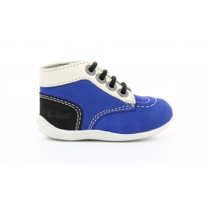 Kickers BONBON BLUE WHITE BLACK