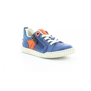 Kickers WINCHESTER BLEU ORANGE