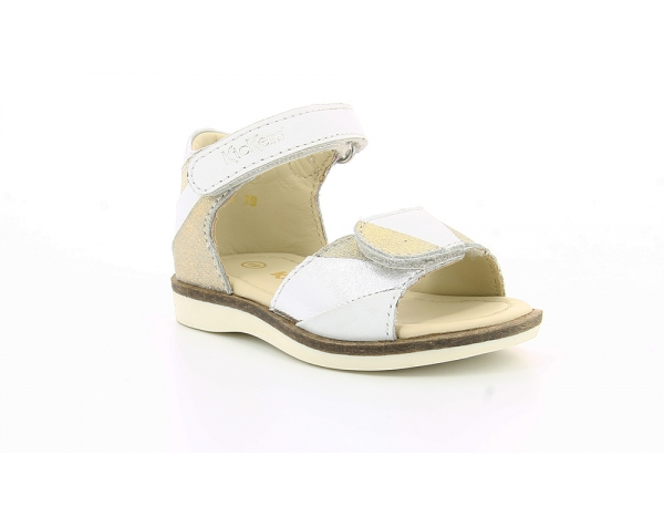 Kickers GIUSTI BLANCO METAL