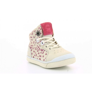 Kickers GOODJOB WHITE PRINT PINK