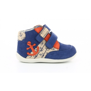Kickers BIGOUKRO BLUE RED