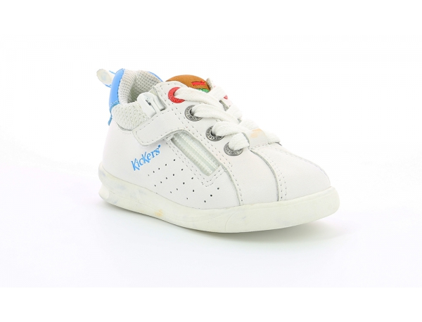 Kickers CHICAGO BB WHITE/ BLUE