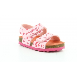 Kickers SUMMERKRO ROSE CLAIR IMPR FUSCHIA