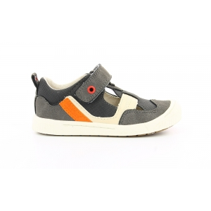 Kickers ZIGUERO GREY ORANGE