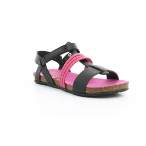 Kickers PICNIC V BLACK FUSCHIA