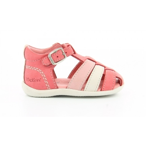 Kickers BIGFLY ROSE BLANC