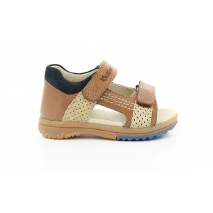 Kickers PLAZABI CAMEL BLUE