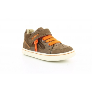 Kickers LYPSTER MARRON ORANGE