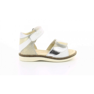 Kickers GIUSTI WHITE METAL