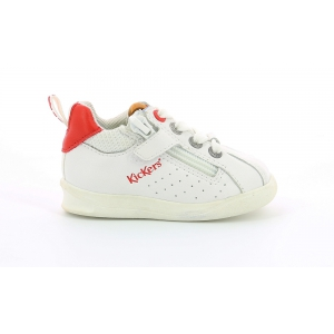 Kickers CHICAGO BB WHITE RED