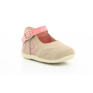 Kickers BOWGLI BEIGE ROSE