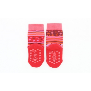 Kickers HOMESTAR FUSCHIA PINK ORANGE