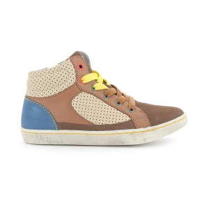 Kickers LYNX DARK BEIGE BLUE