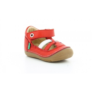 Kickers SUSHY ROUGE BLANC