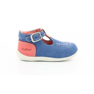 Kickers BONBEK BLEU ROSE