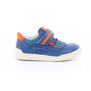 Kickers WIKETTE BLEU ORANGE