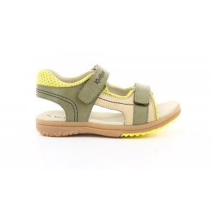Kickers PLATINO KHAKI YELLOW