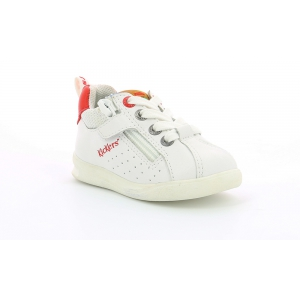Kickers CHICAGO BB bianco rosso