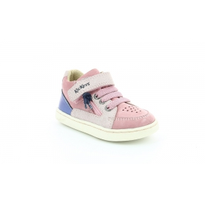 Kickers LYPSTER PINK METALIZED