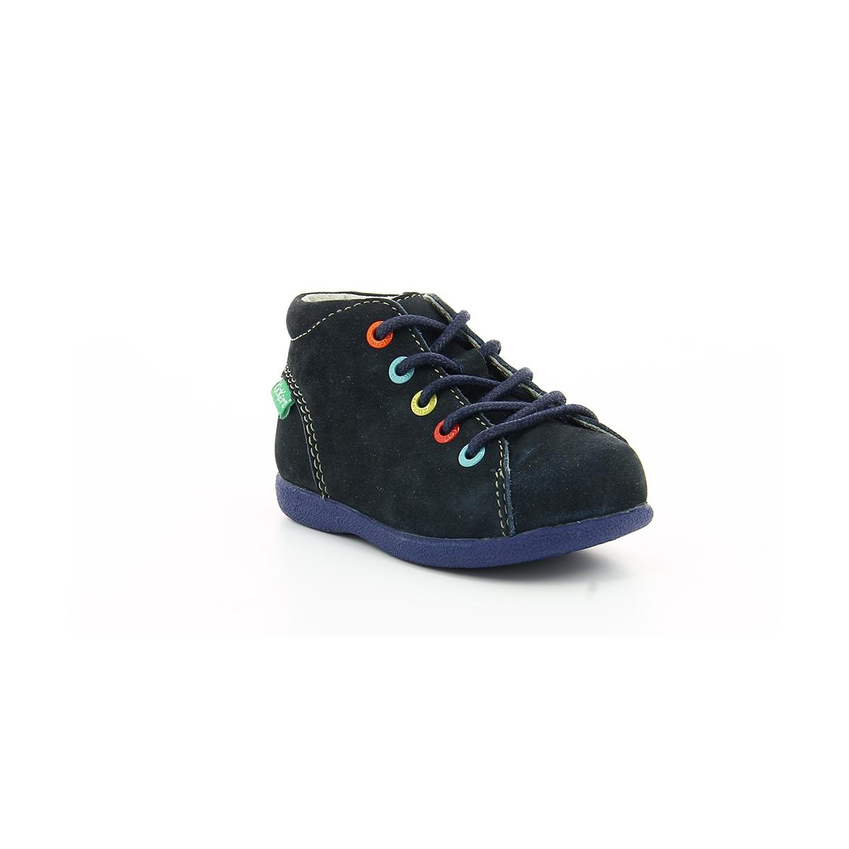 609ca8e1e8e5e3 Kid's shoes BABYSTAD NAVY - Kickers