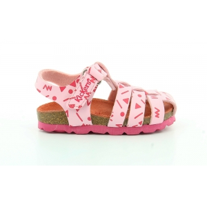 Kickers SUMMERTAN ROSE CLAIR IMPR ROSE