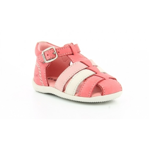 Kickers BIGFLY ROSE BLANC ROSE CLAIR