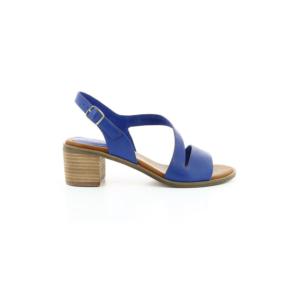 Volubil - Sandales Pour Femmes / Kickers Bleu OQSv6mR