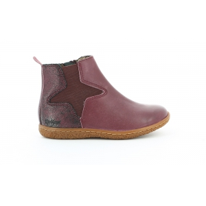 Kickers VERMILLON BORDEAUX