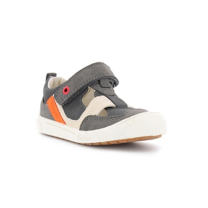 Kickers ZIGUERO GRIS ORANGE