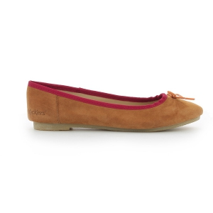 Kickers BAIE MARRON CLAIR ORANGE