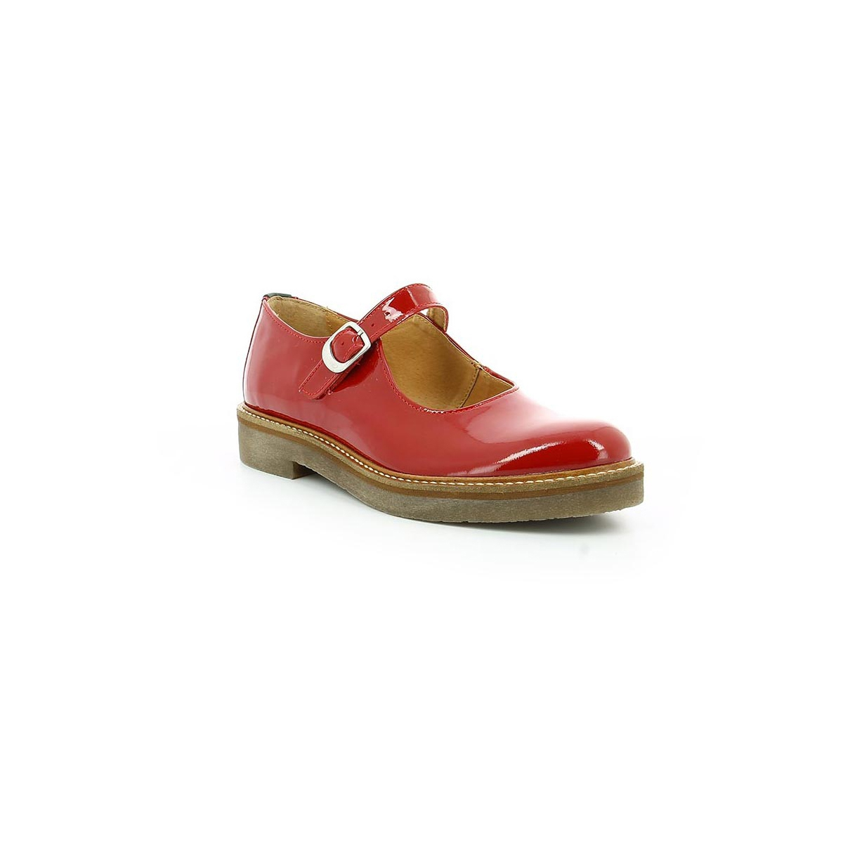 chaussures femme oxitane rouge vernis kickers. Black Bedroom Furniture Sets. Home Design Ideas