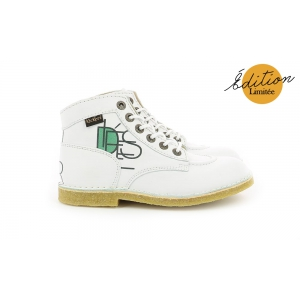 Kickers KICK LEGEND 68 BLANC