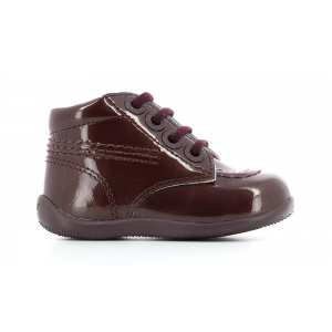 Kickers BILLISTA BURGUNDY PATENT