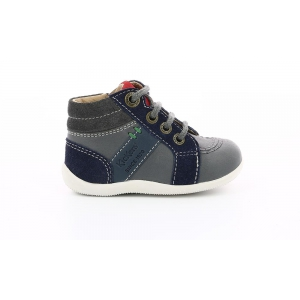 Kickers BAKARI GREY NAVY RED