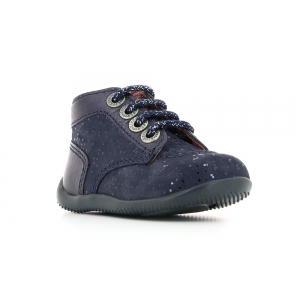 Kickers BONBON MARINE METALLIQUE