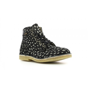 Kickers KICK LEGEND BLACK DOT BEIGE