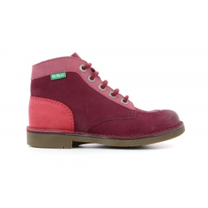 Kickers KICK COL BURGUNDY PINK