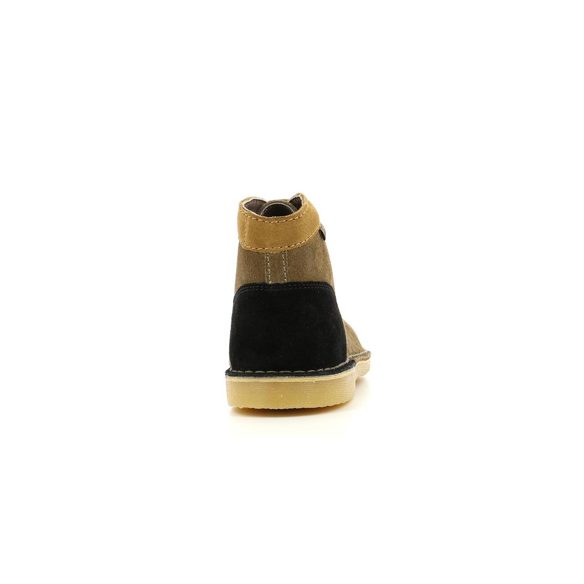 31b834706b76 Femme MARRON NOIR CLAIR Kickers Chaussures BEIGE ORILEGEND xgdq6EgwZ